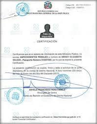 Cómo sacar Certificado de Buena Conducta o Antecedentes Penales