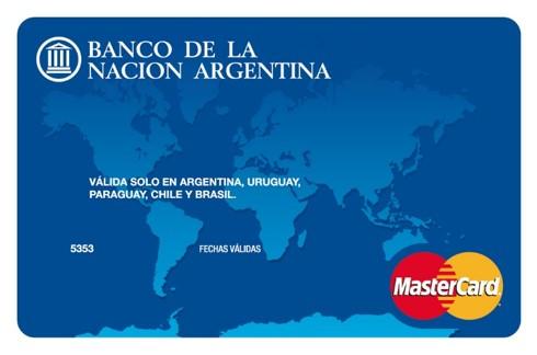 Tipos de Tarjetas de Crédito ofrece el Banco de la Nación Mastercard