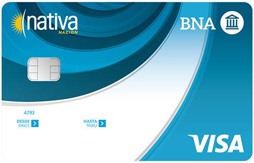Tipos de Tarjetas de Crédito ofrece el Banco de la Nación Nativa VISA
