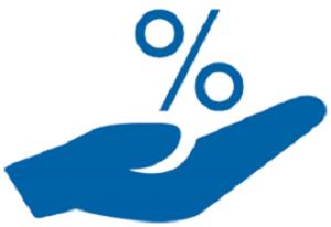 porcentaje y mano