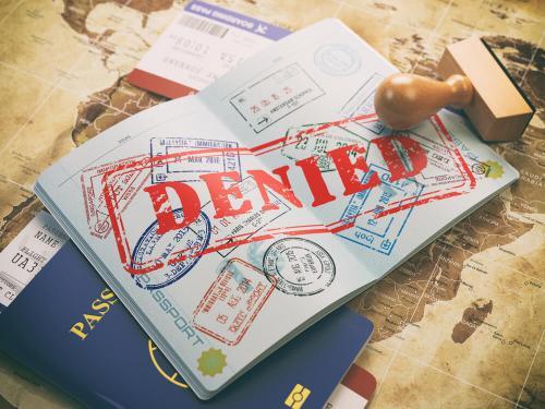 que hago si me niegan la visa
