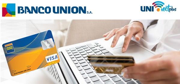 como sacar tarjeta de credito del banco union boliva