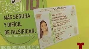 Cómo sacar el Real ID en Puerto Rico